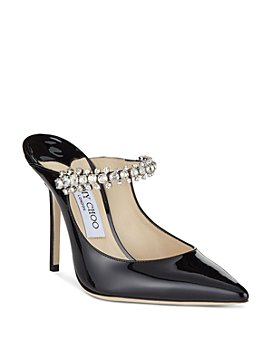 Jimmy Choo - Women's Pat 100 Embellished High-Heel Mules