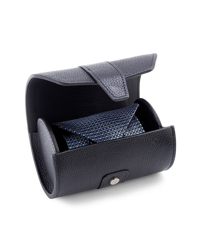 ROYCE New York - Leather Double Tie Roll Travel Case