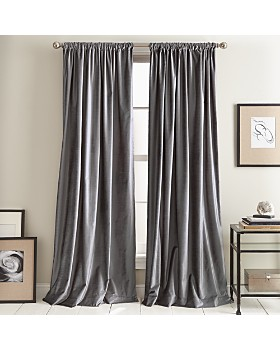 DKNY - Modern Knotted Velvet Curtain Collection
