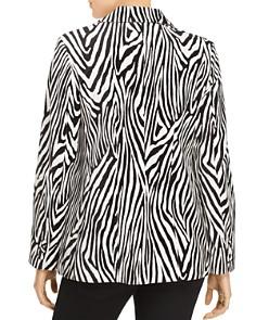 FRAME - Zebra Stripe Velvet Blazer