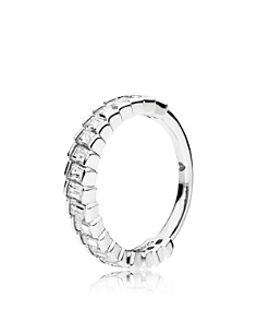 PANDORA - Sterling Silver & Cubic Zirconia Glacial Beauty Ring