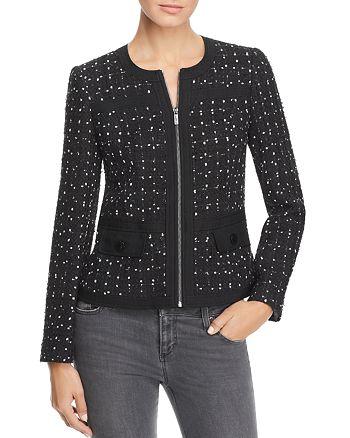 KARL LAGERFELD Paris - Banded Tweet Jacket