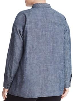 Eileen Fisher Plus - Button-Down Tunic