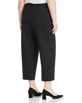 Eileen Fisher Plus - Cropped Drawstring Pants