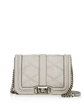 Rebecca Minkoff - Love Small Nubuck Leather Crossbody
