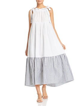 0cbf6f1c8cee0d Weekend Max Mara - Utopico Ruffled Cotton Maxi Dress ...