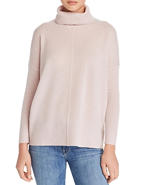 C By Bloomingdale's C BY BLOOMINGDALE'S HIGH/LOW CASHMERE TURTLENECK SWEATER - 100% EXCLUSIVE
