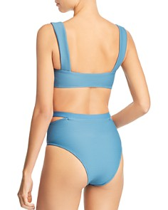 Vitamin A - Venus Bikini Top & Coco High-Waist Cutout Bikini Bottom