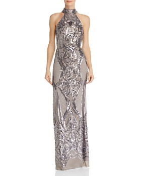 6af2dd47 AQUA - Sequin Scroll Gown - 100% Exclusive ...