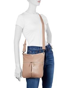 Longchamp - Veau Foulonne Leather Hobo Crossbody