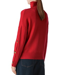 Whistles - Funnel-Neck Wool & Cashmere Sweater