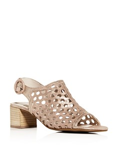 Paul Green - Women's Tico Perforated Block-Heel Sandals
