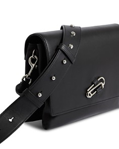ALLSAINTS - Nancy Large Leather Crossbody Box Bag