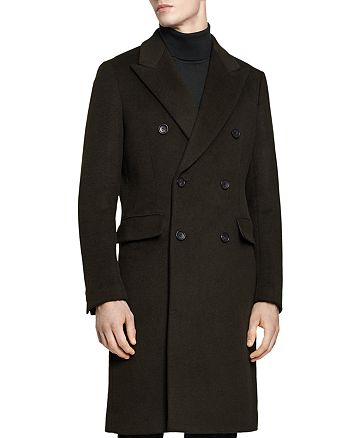 REISS - Carlton Double-Breasted Overcoat