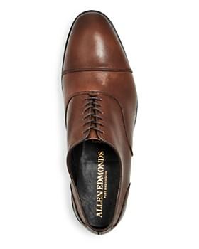 Allen Edmonds - Men's Bond Street Leather Cap-Toe Oxfords