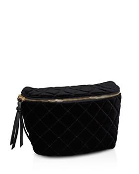 BCBGeneration - Naressa Velvet Belt Bag