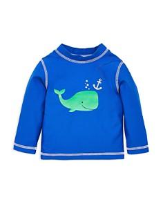 Little Me - Boys' Whale Rash Guard Top - Baby