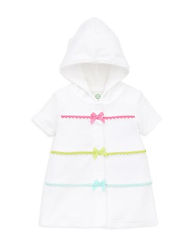 Little Me - Girls' Hooded Swim Suit Cover-Up - Baby