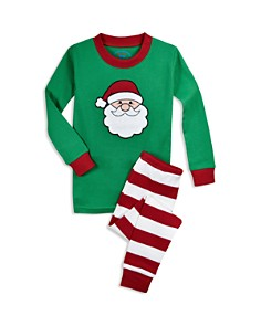 Sara's Prints - Unisex Santa Pajama Shirt & Pants Set - Little Kid