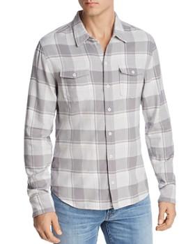 PAIGE - Everett Plaid Regular Fit Shirt - 100% Exclusive