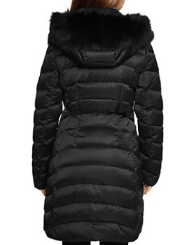 Dawn Levy - Jet Setter Fur Trim Coat