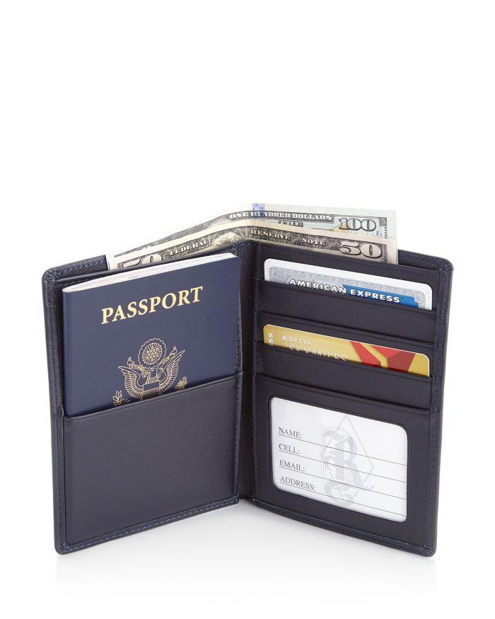 ROYCE New York Leather RFID-Blocking Passport Case & Wallet    Bloomingdale's