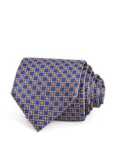 Canali - Floral Medallion Silk Classic Tie