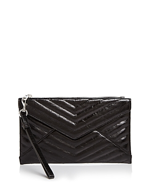 Rebecca Minkoff Pouches LEO QUILTED LEATHER CLUTCH