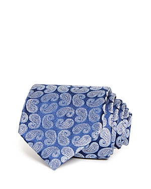 654e75b6cb1 The Men S Store At Bloomingdale S Tossed Pines Silk Classic Tie - 100%  Exclusive In Navy
