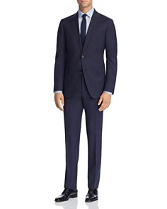 Z Zegna - Mélange Plaid Wool Slim Fit Suit - 100% Exclusive