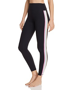 Spiritual Gangster - Perfect Rainbow-Stripe Leggings
