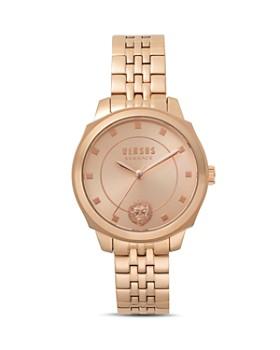 Versus Versace - New Chelsea Rose Gold-Tone Watch, 34mm