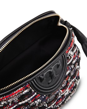 Tory Burch - Fleming Tweed & Leather Belt Bag