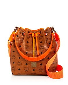 MCM - Visetos Crossbody Bucket Bag - 100% Exclusive
