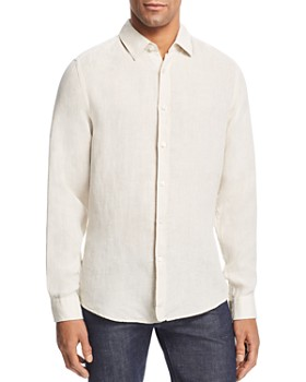 9932b2ab BOSS Hugo Boss - Lukas Linen Slim Fit Shirt ...