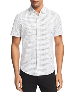 BOSS - Rash Palm Regular Fit Button-Down Shirt