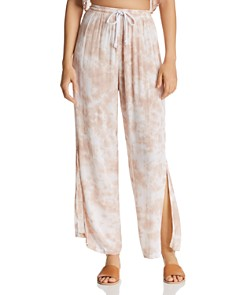 Tiare Hawaii - Heatwave Printed Side-Slit Pants