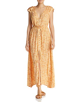 65d6a830c1 Tiare Hawaii - Veuve Floral-Print Maxi Dress ...