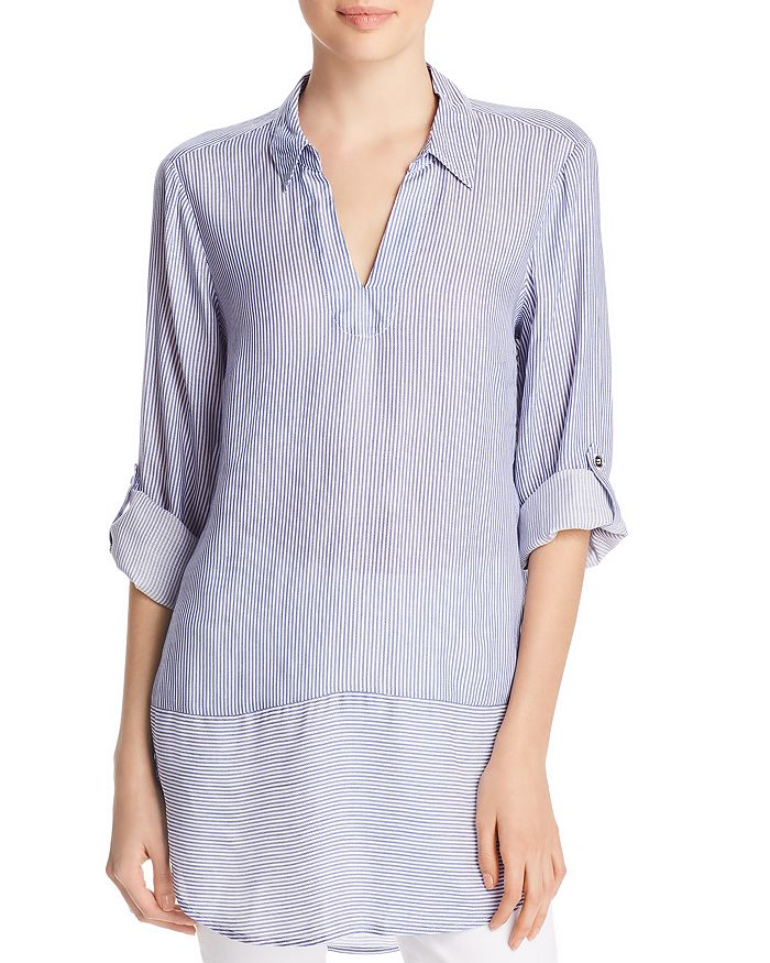 Cupio - Directional Stripe Tunic