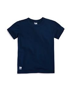 TOM & TEDDY - Boys' Short Sleeve Rash Guard Tee - Little Kid, Big Kid