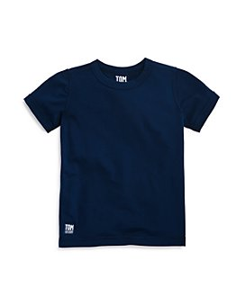 TOM & TEDDY - Boys' Short Sleeve Rash Guard Tee - Little Kid, Big Kid