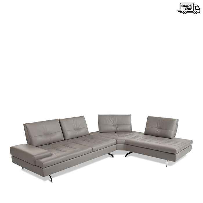 Giuseppe Nicoletti - Toffee Sectional - Right Arm Facing - 100% Exclusive
