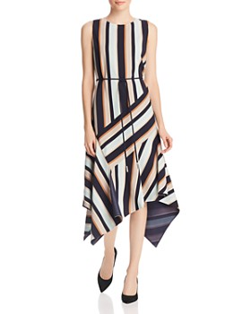 Lafayette 148 New York - Marnie Sleeveless Striped Dress