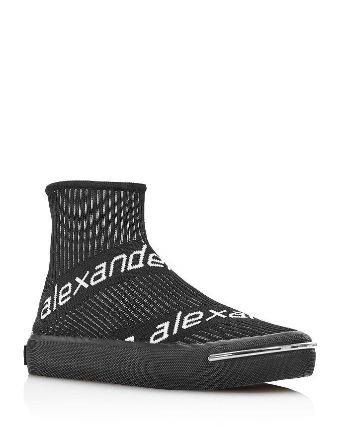 Alexander Wang - Women's Pia Logo Knit Sneakers