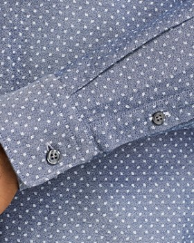 28add219 ... BOSS Hugo Boss - Ronni Confetti Slim Fit Button-Down Shirt