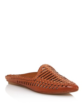 Dolce Vita - Women's Ginny Woven Leather Mules - 100% Exclusive