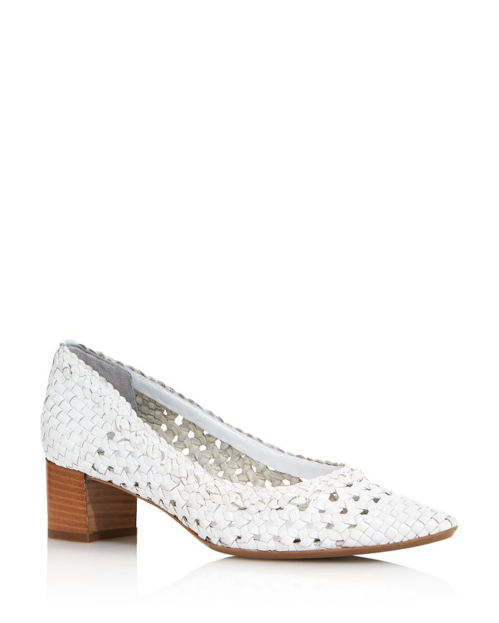 Aquatalia - Women's Pasha Woven Leather Pumps