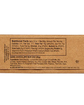 Bloomingdale's - Assorted Chocolate Bars Little Brown Bag