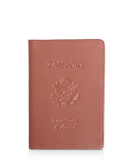 ROYCE New York - Leather RFID-Blocking U.S. Passport Case
