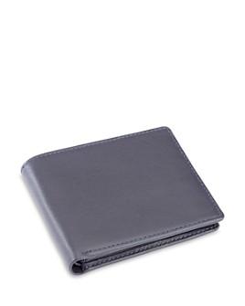 ROYCE New York - Leather RFID-Blocking ID Flap Bifold Wallet